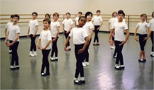 clase danza niños